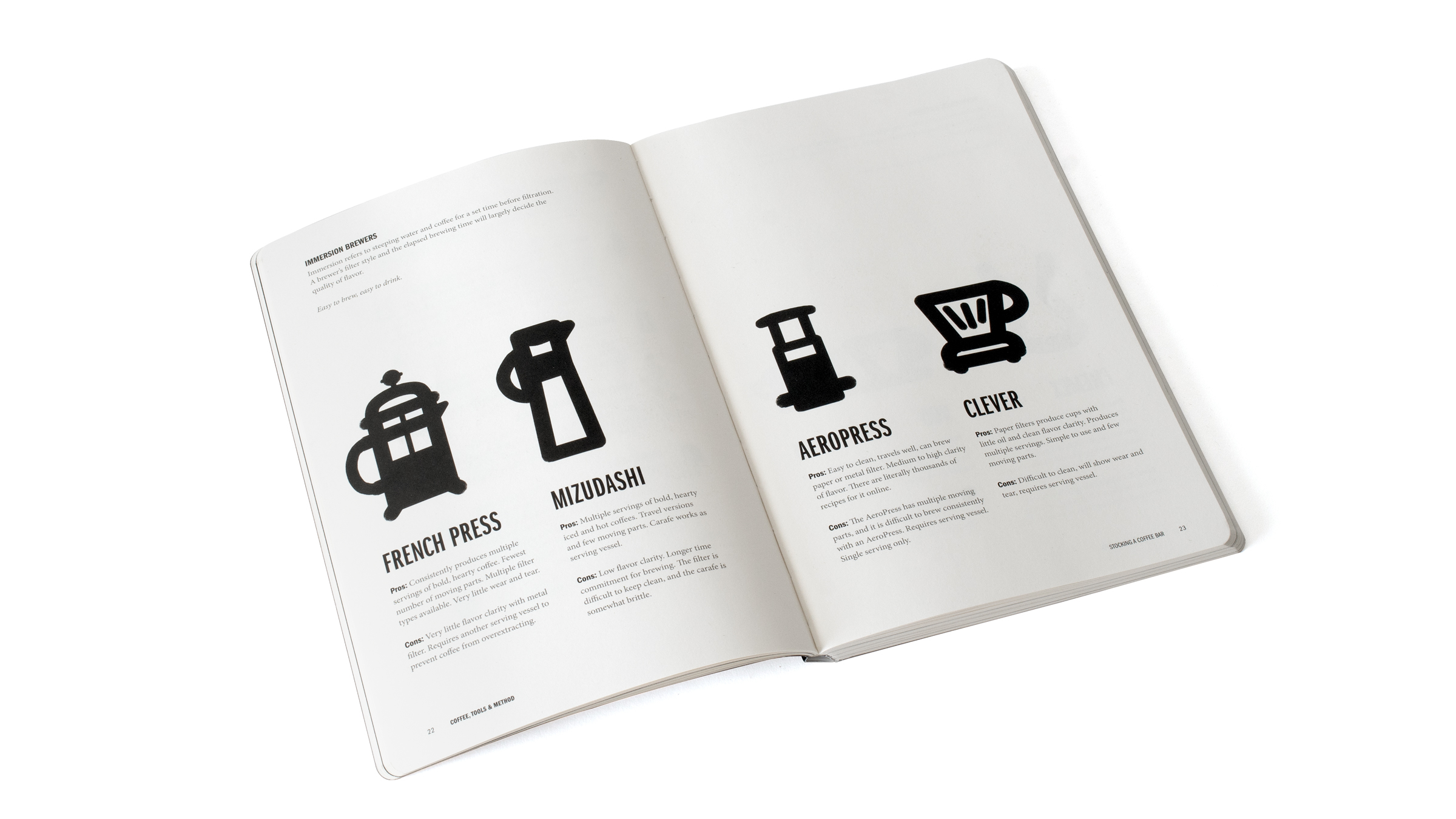 Grounded Coffee Book Brewers