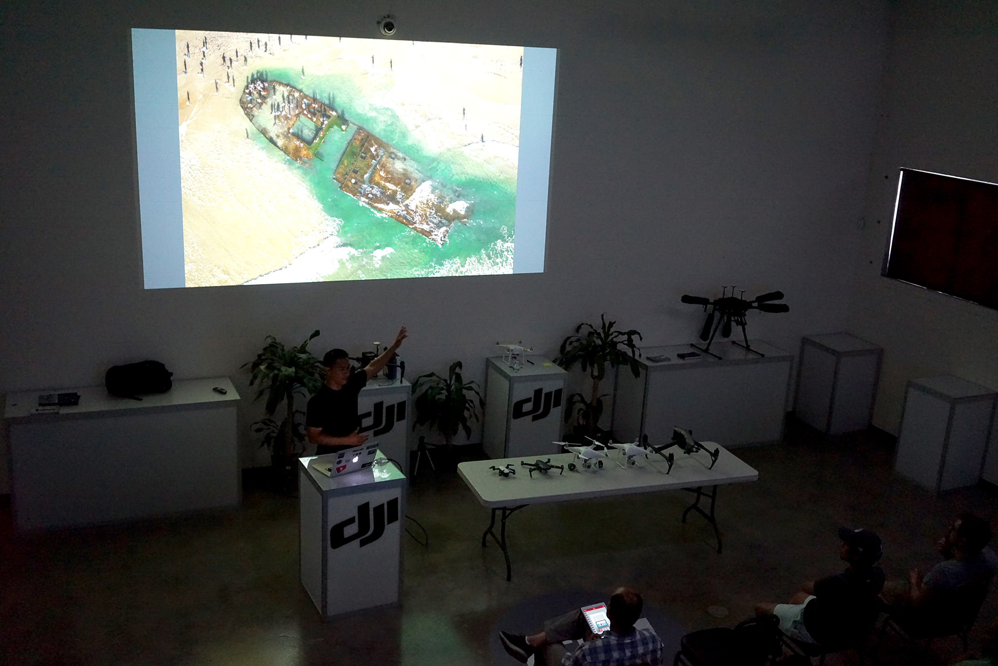 Featured Speaker at the DJI Store Grand Opening in San Diego, CA