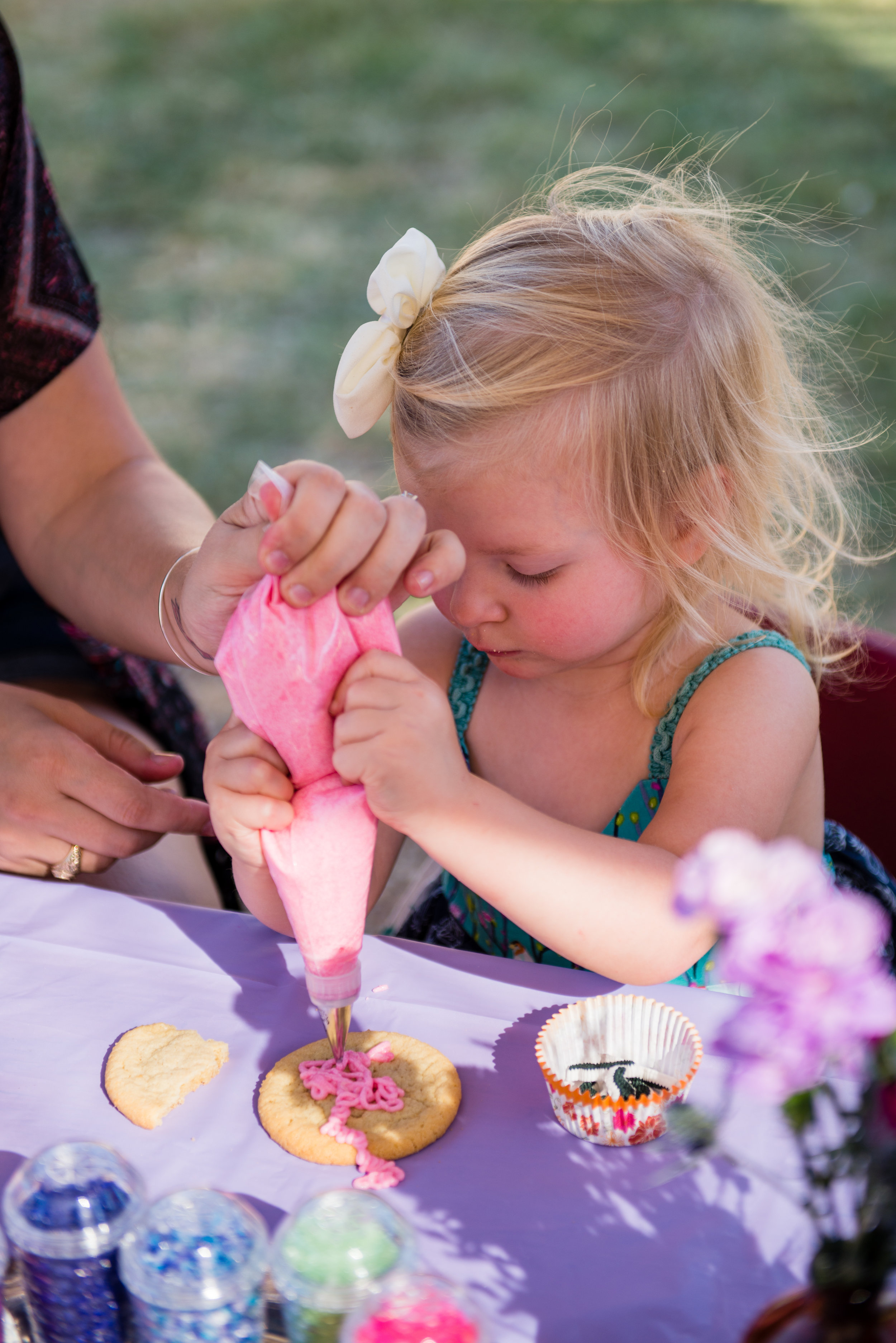 cupcake and cookie decorating