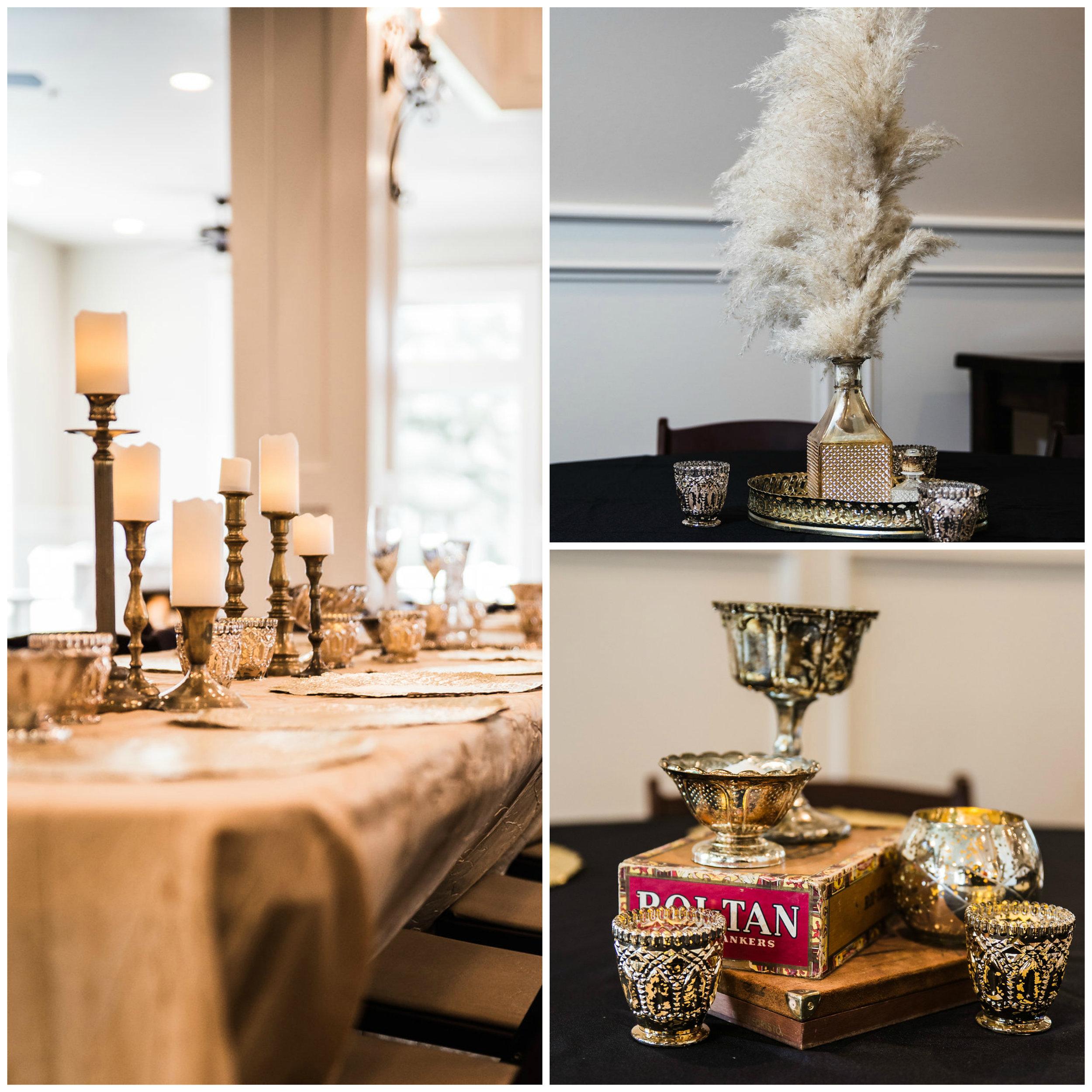 Houston wedding rentals southern gatsby glam