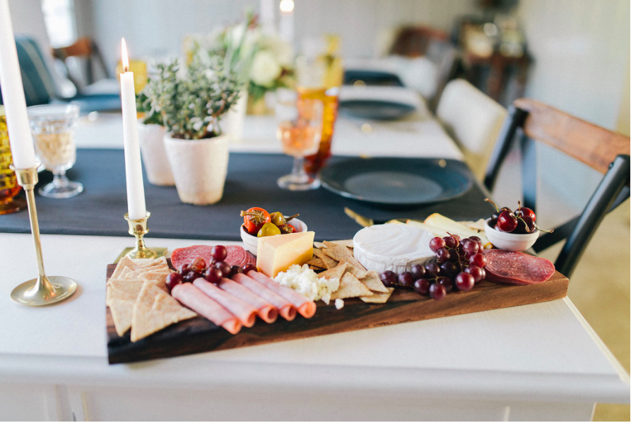 charcuterie board dinner party
