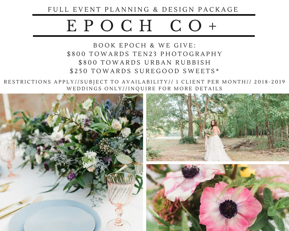 full event planning and design package texas