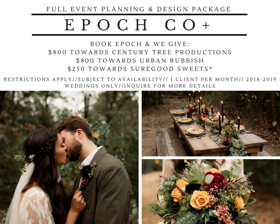 Full Event Planning & Design Texas Century Tree Productions