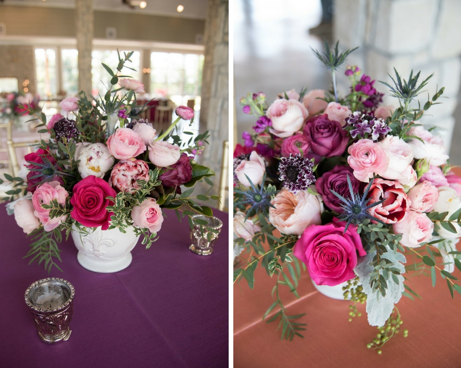 Spring Wedding Florals by PostOak Florist - Design by Epoch Co Wedding Planner at Stonehem Hall College Station