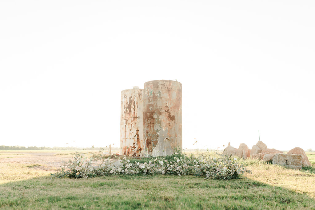 The silos at the gin vintage modern industrial wedding ten23photography college station wedding planner epoch co