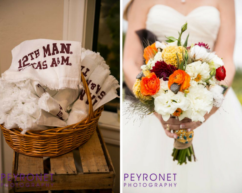 Aggie Wedding College Station Fall Rustic Double Creek Crossing Epoch Co Planners Peyronet Photography