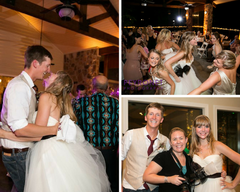 Aggie College Station Wedding Rustic Fall Double Creek Crossing Peyronet Photography Dance Floor