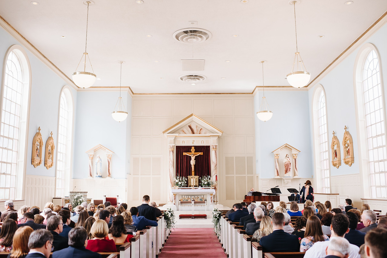 St. Marys Catholic Church College Station Wedding epoch co coordinators