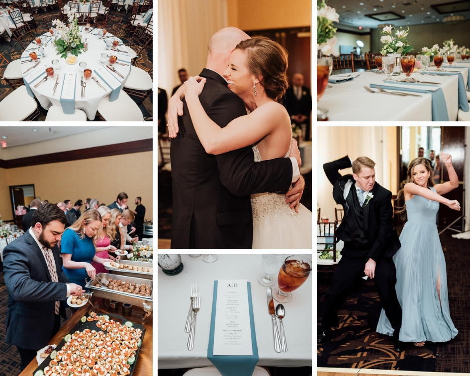 hilton ballroom reception college station texas wedding planner epoch co