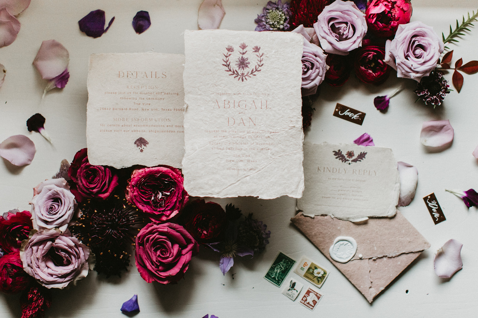 stationery styled detail inspiration by stylist wedding planner epoch co+