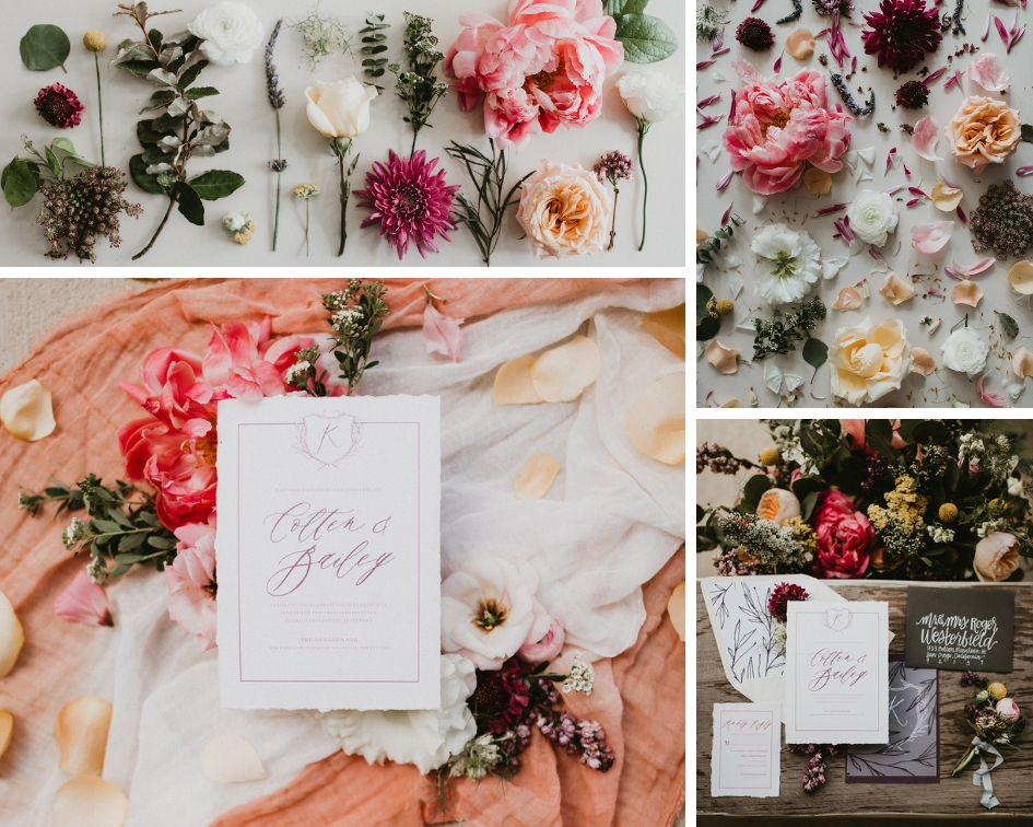 Photography : Century Tree Productions  ||   Floral : Urban Rubbish  ||  Stationery : The Sensible Type ||  Venue : The Meekermark, Magnolia, Texas
