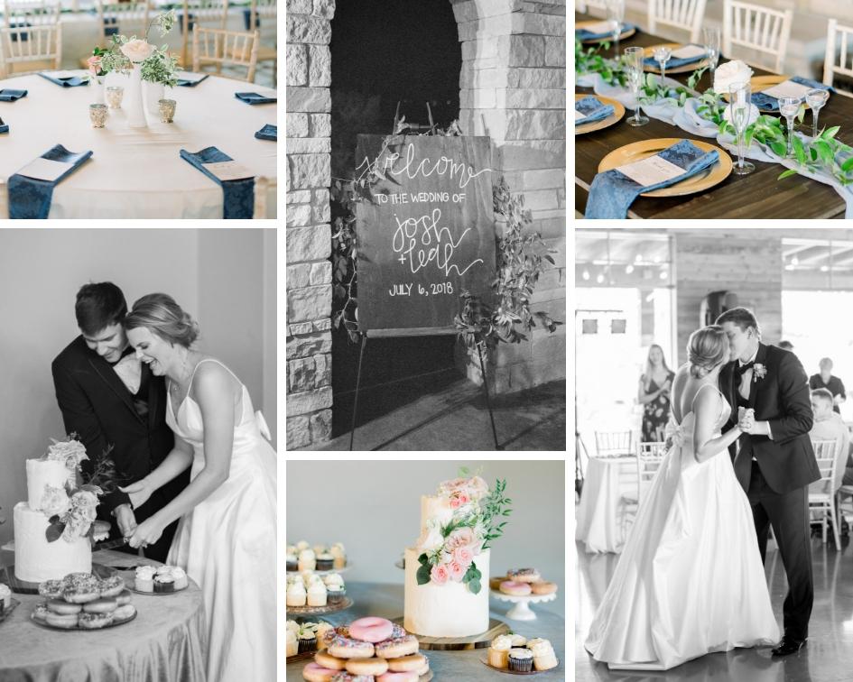 dusty blue wedding inspiration austin texas wedding planner epoch co+ erin elizabeth photographer