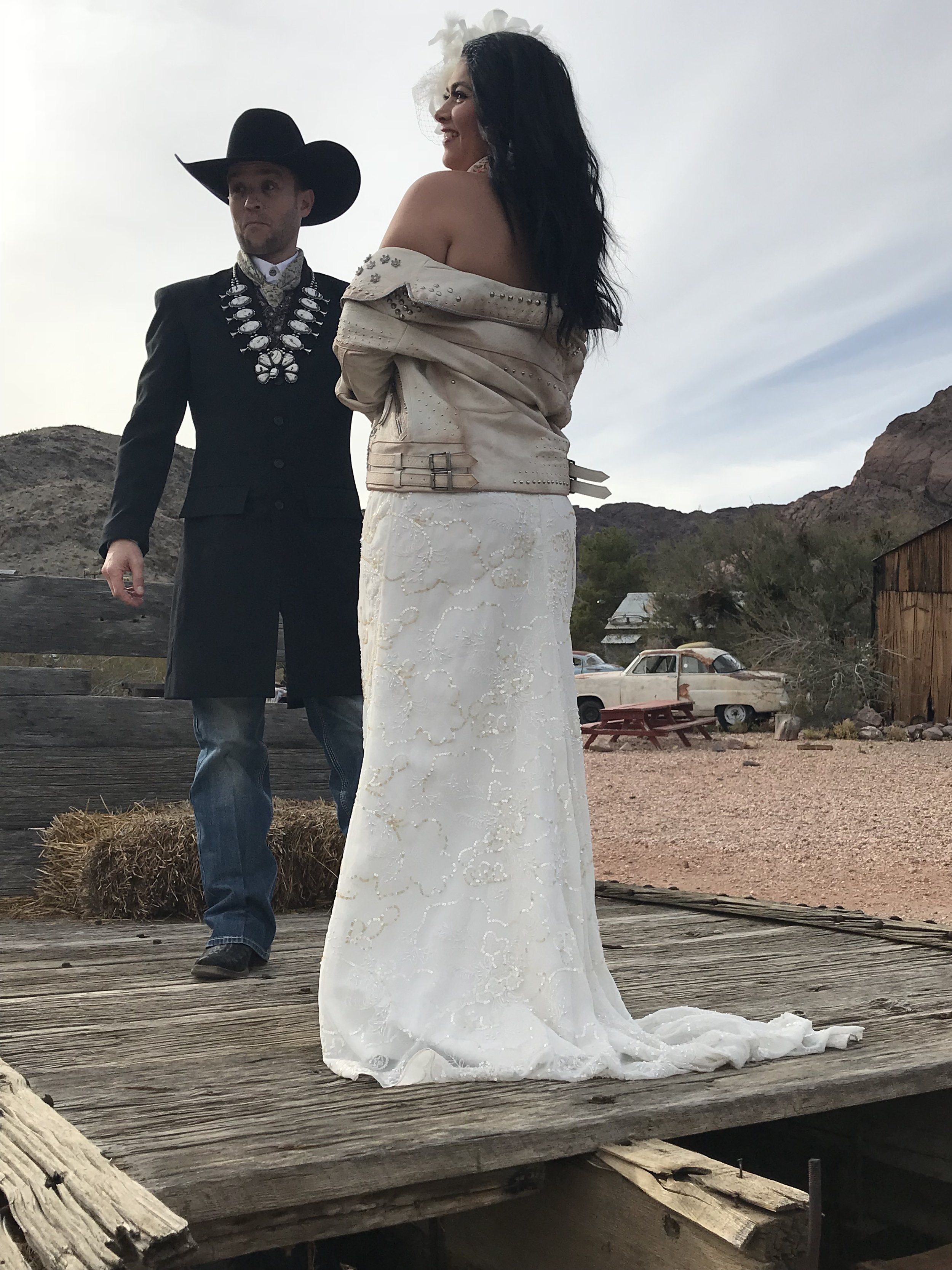 western wedding ceremony