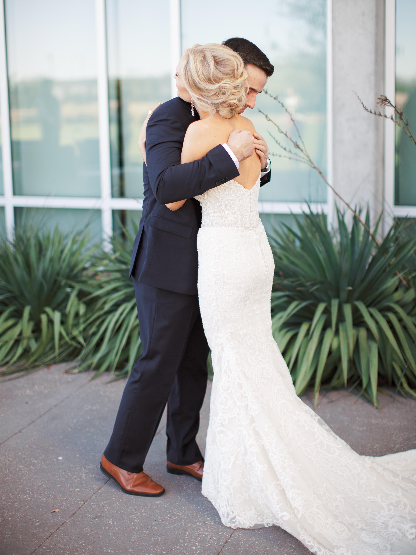 First look with groom wedding day california florida + destination planner coordinator epoch co + hannah mayson film photographer