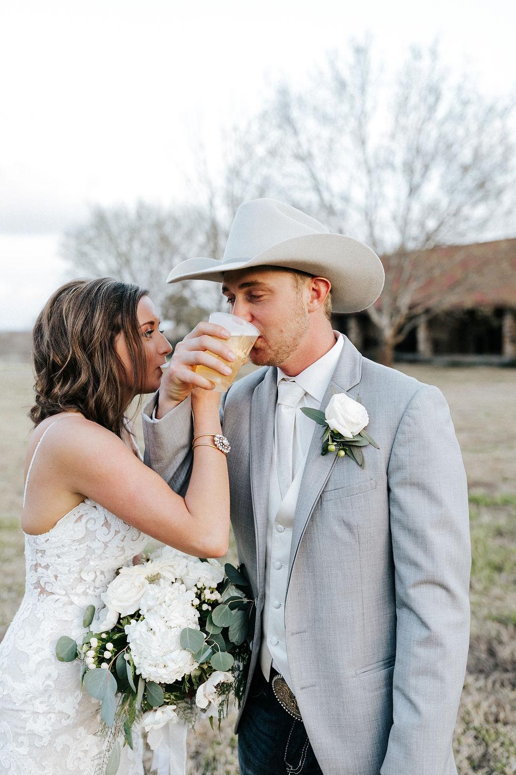 Epoch Co+ Destination wedding planner | First Look Photo Ideas with Groom | Rockin Star Ranch, Brenham Wedding Venue | Velvet + Wire Photography | Austin Wedding Planner