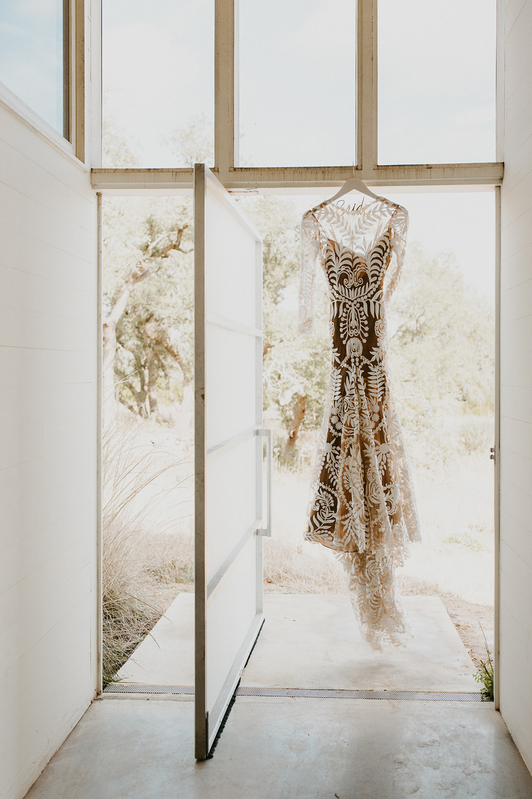 Rue De Seine Wedding Dress + Prospect House, Austin, Texas + Destination Wedding Planner Epoch Co+ + Century Tree Photography