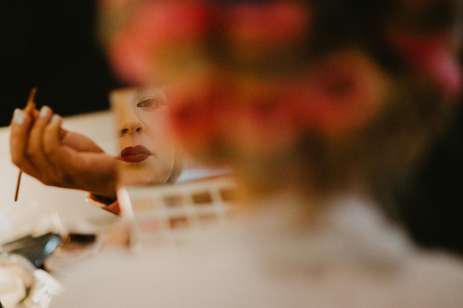 Hollywood Glam '60s Bridal Beauty + Wedding Day Makeup + Hairystyle + Lola Beauty Austin, Texas