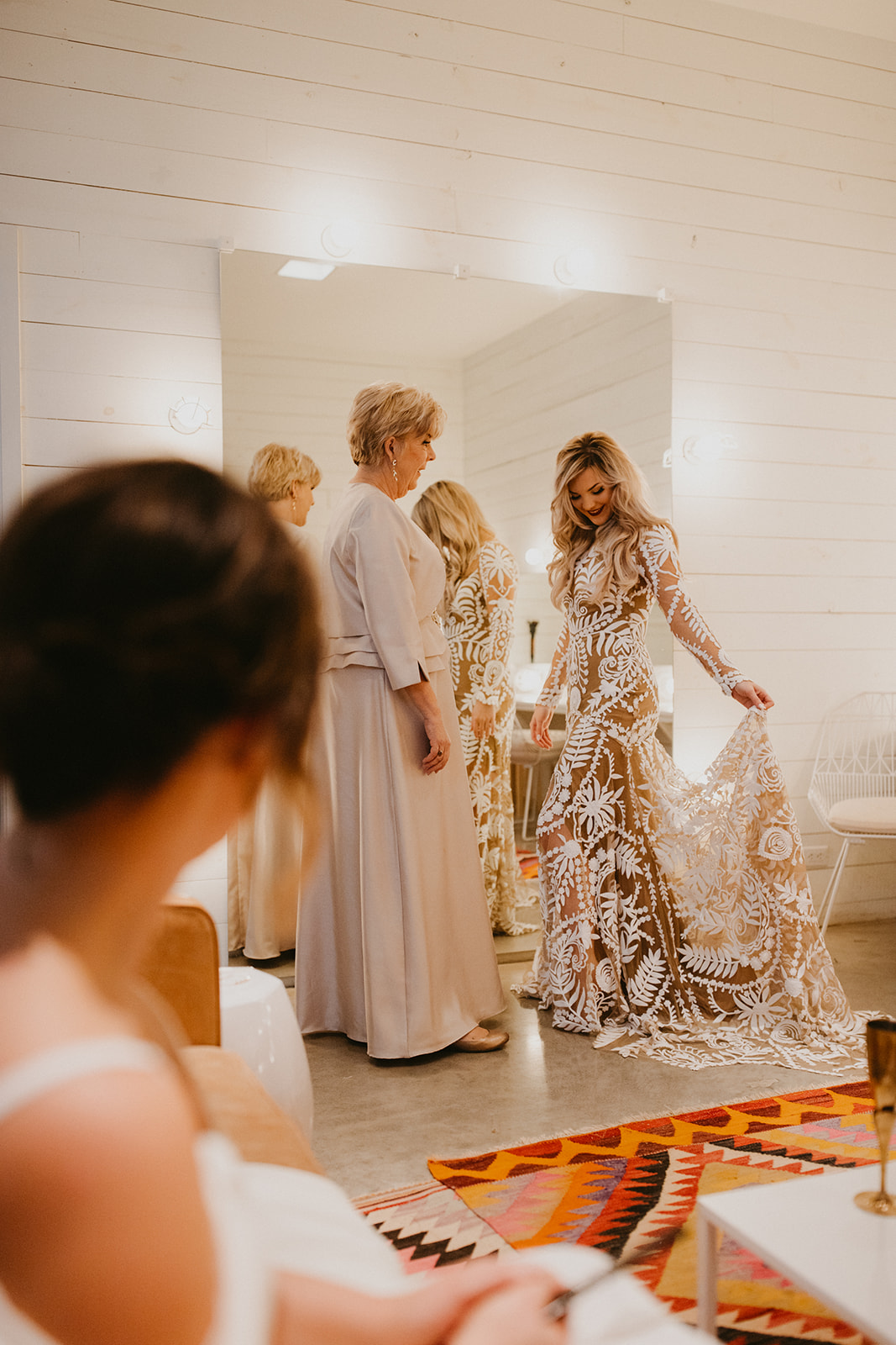 mother daughter sister getting ready images + colorado telluride durango wedding photographer century tree co
