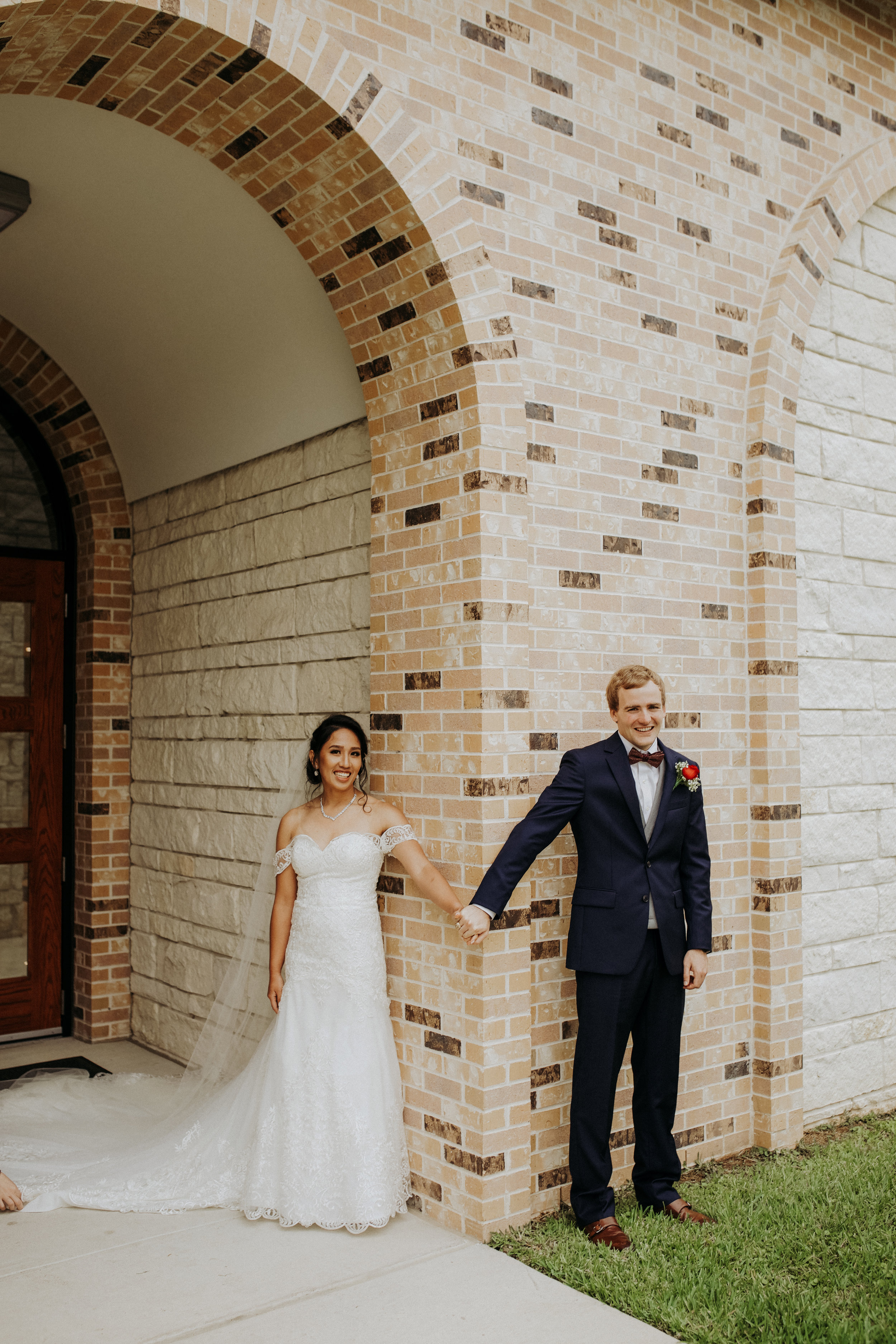 Bride and Groom 'First Touch' || Houston Wedding Planner