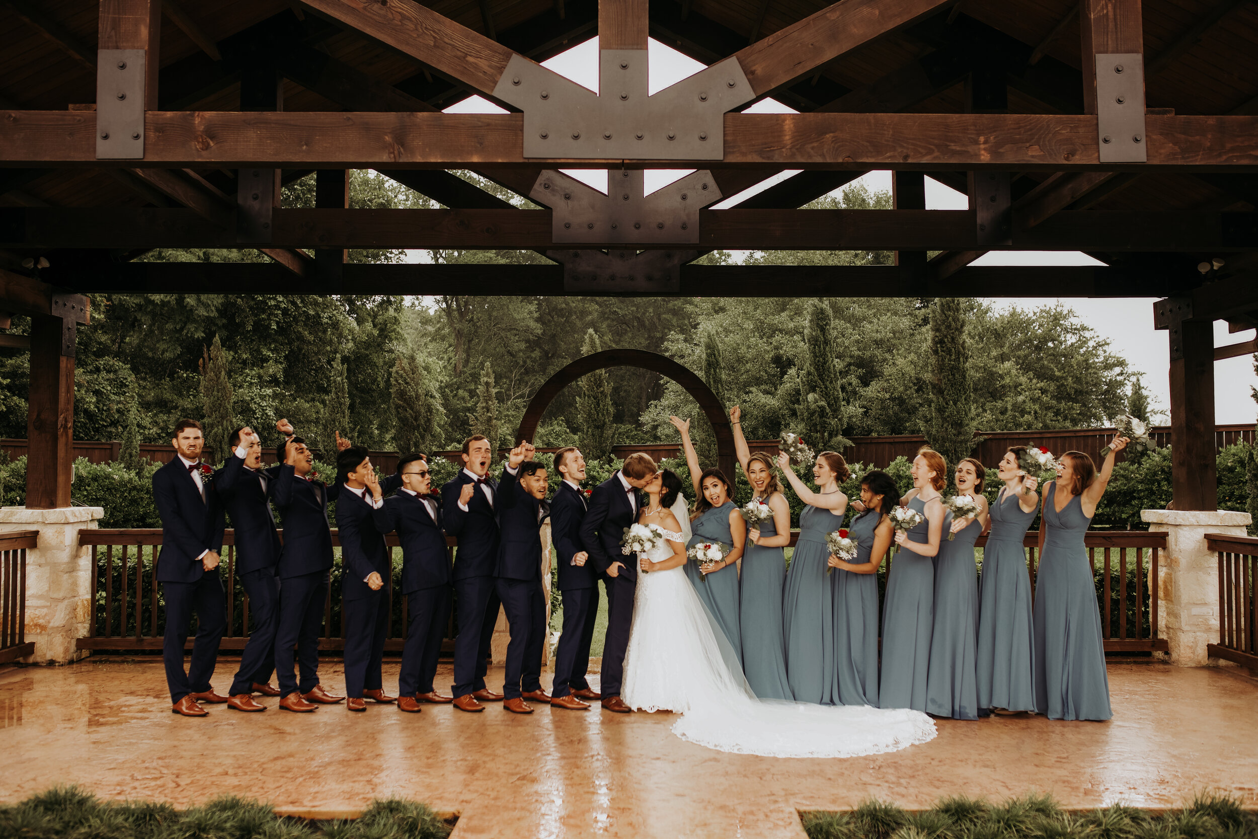 Cheers to the Bride and Groom || The Springs in Katy || Wedding Planner || Epoch Co+