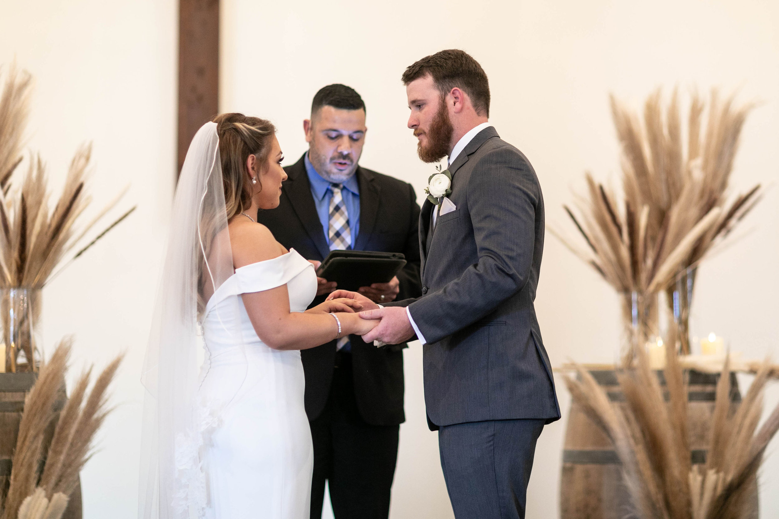 Bride and Groom Ceremony | The Vine | Austin Planner