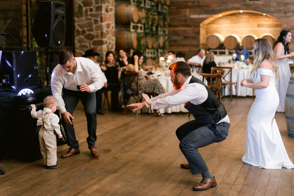 Time to Party | The Vine at New Ulm | Austin Wedding Planner