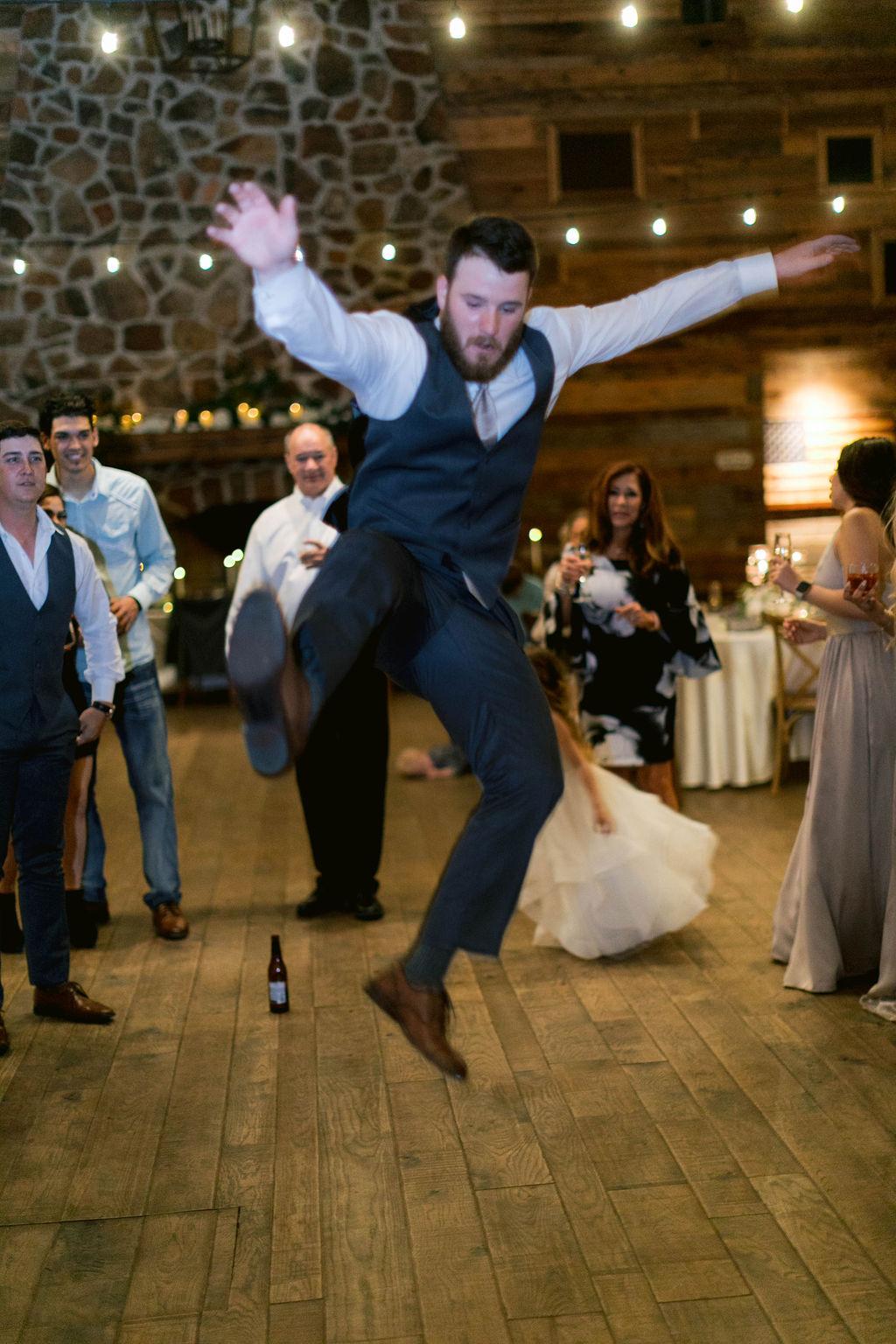 Partying Groom | The Vine | Epoch Co+ | Austin Wedding Planner