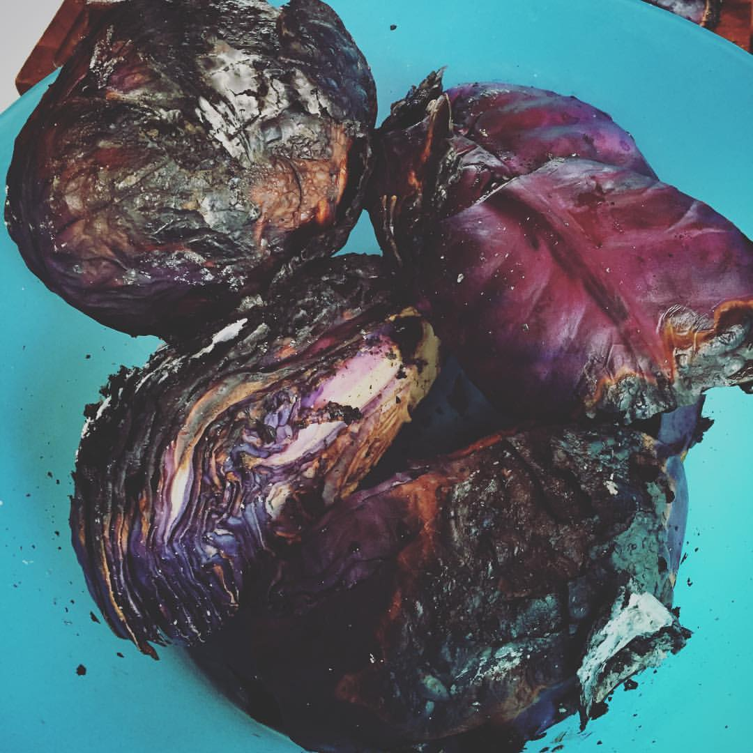 Charred Cabbage from the Grill