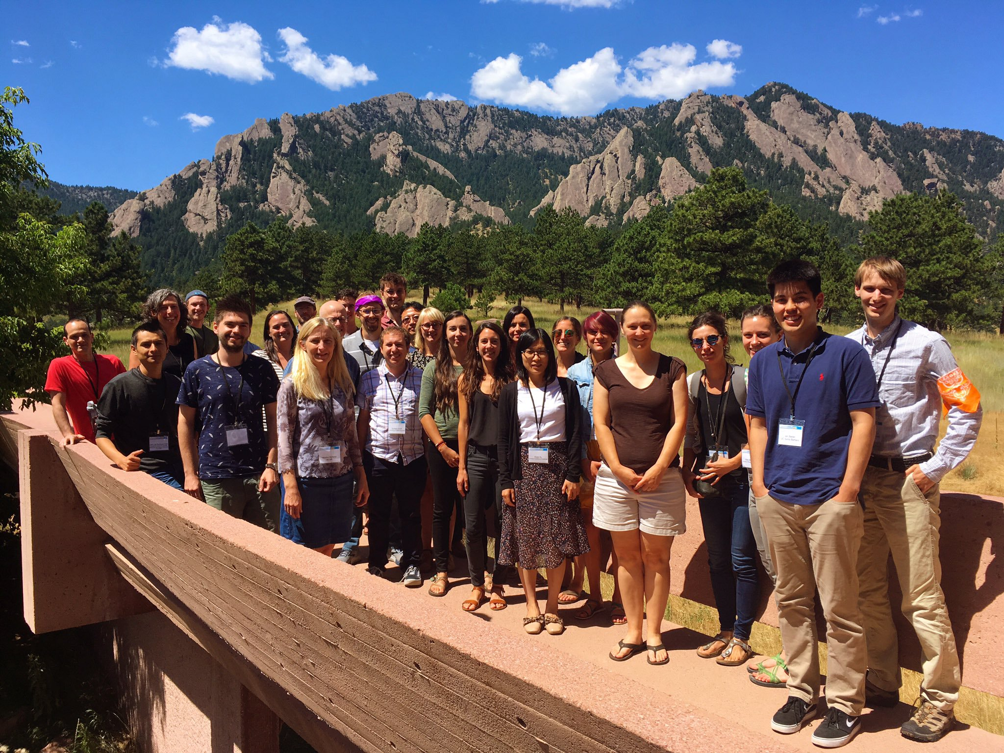 NCAR 2019 Polar Modeling Workshop participants and organizers. Photo:  David Bailey / Todd Amodeo