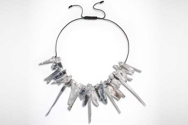 Necklace from the  Rocks  collection
