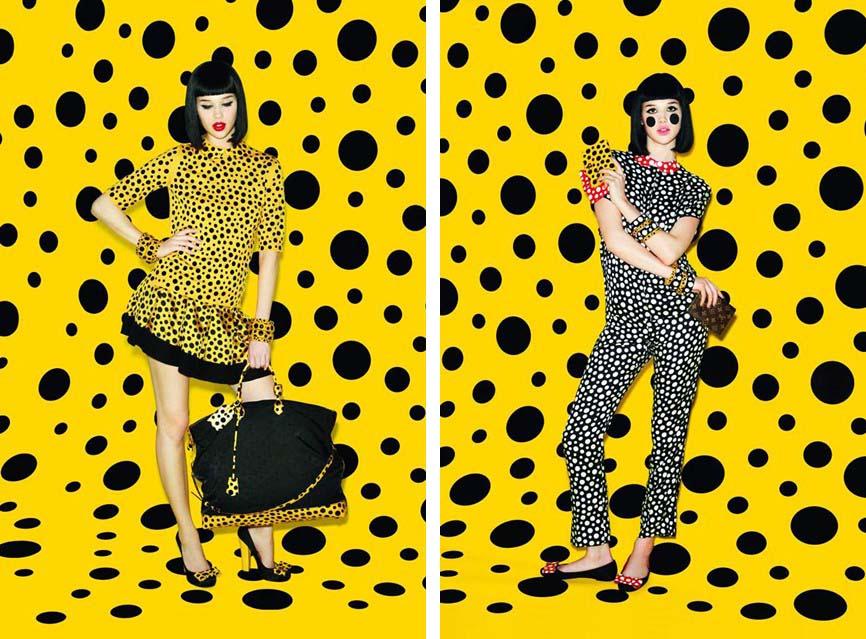 Vuitton and Kusama | Image Courtesy of    Vogue