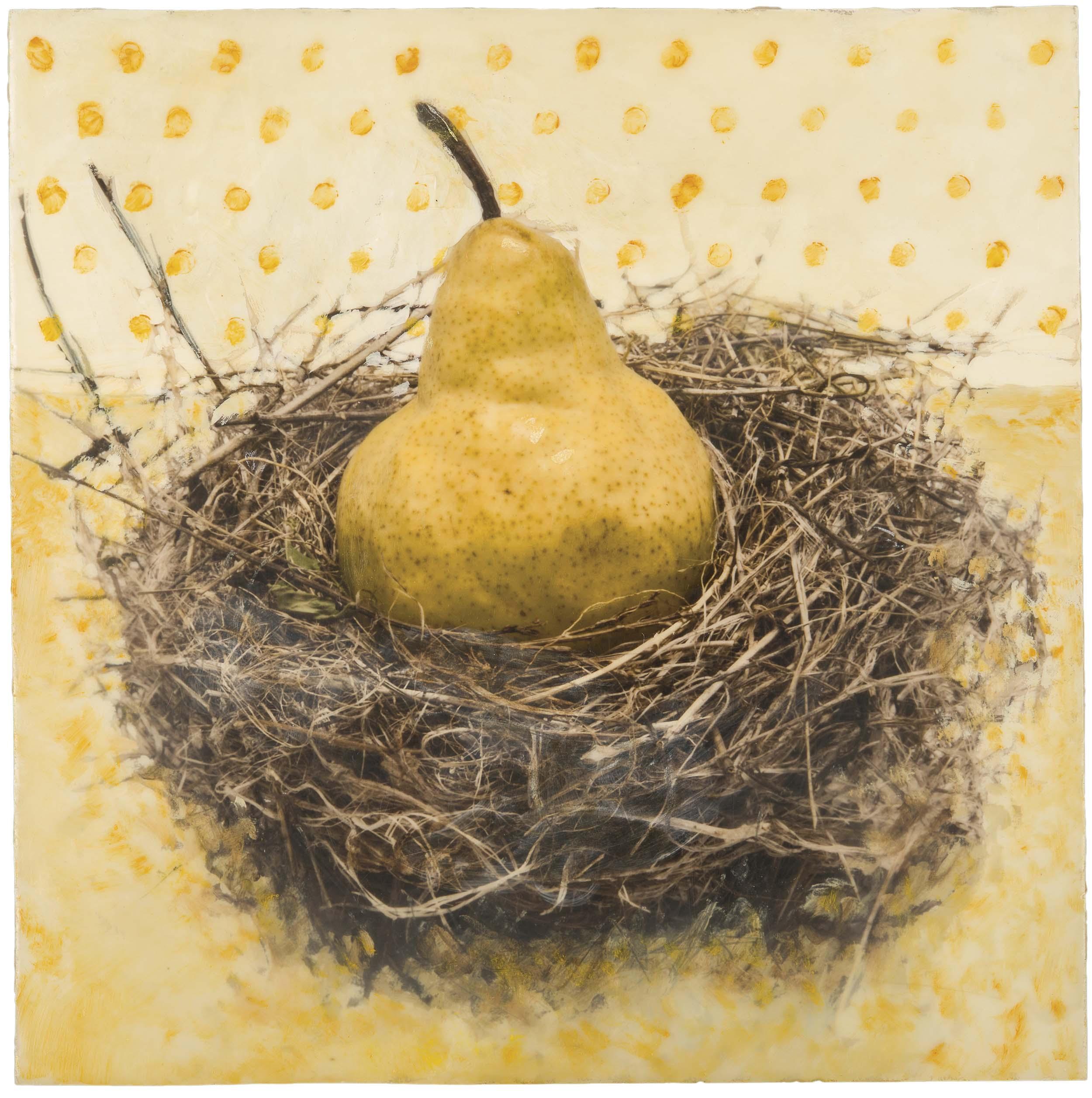 Linda Fillhardt  (NM)  Sitting Pear #3