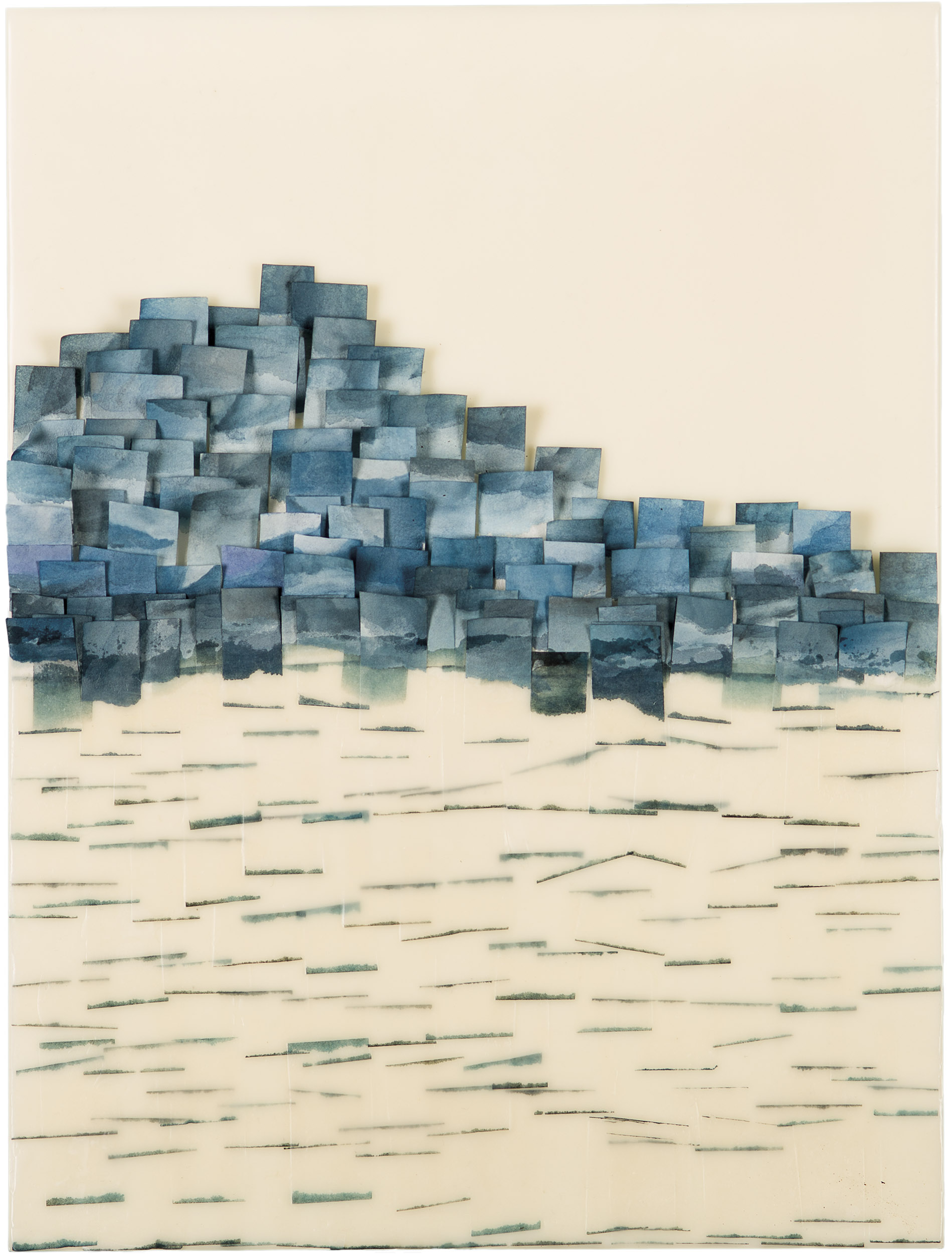 Jenny Phillips  (CA)  Blue Flutter 5