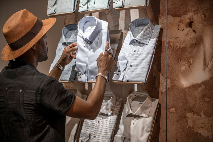 Beautifully crafted shirts that also reflect the brand's philosophy of quality, and excellence.