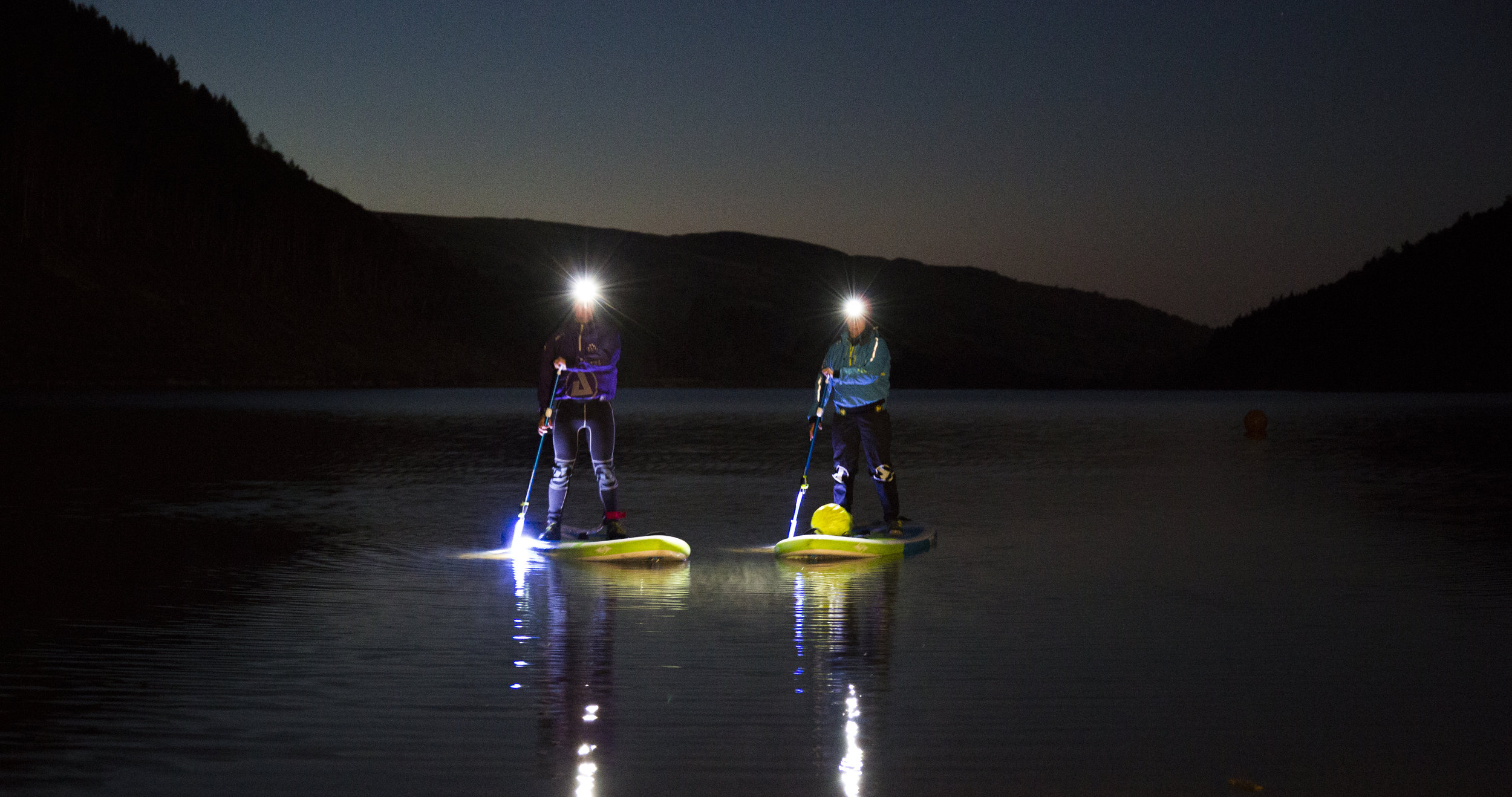 Night Paddleboarding in Snowdonia | Psyched Paddleboarding