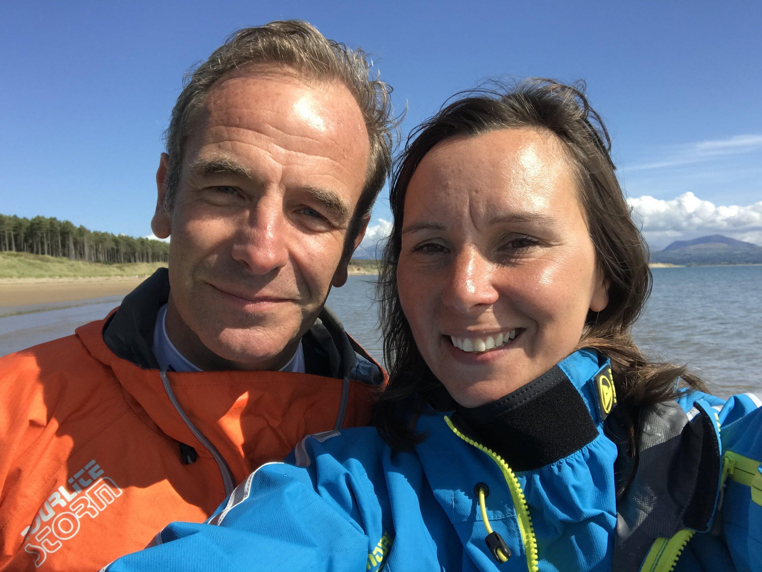 Robson Green & Sian Sykes | Psyched Paddleboarding