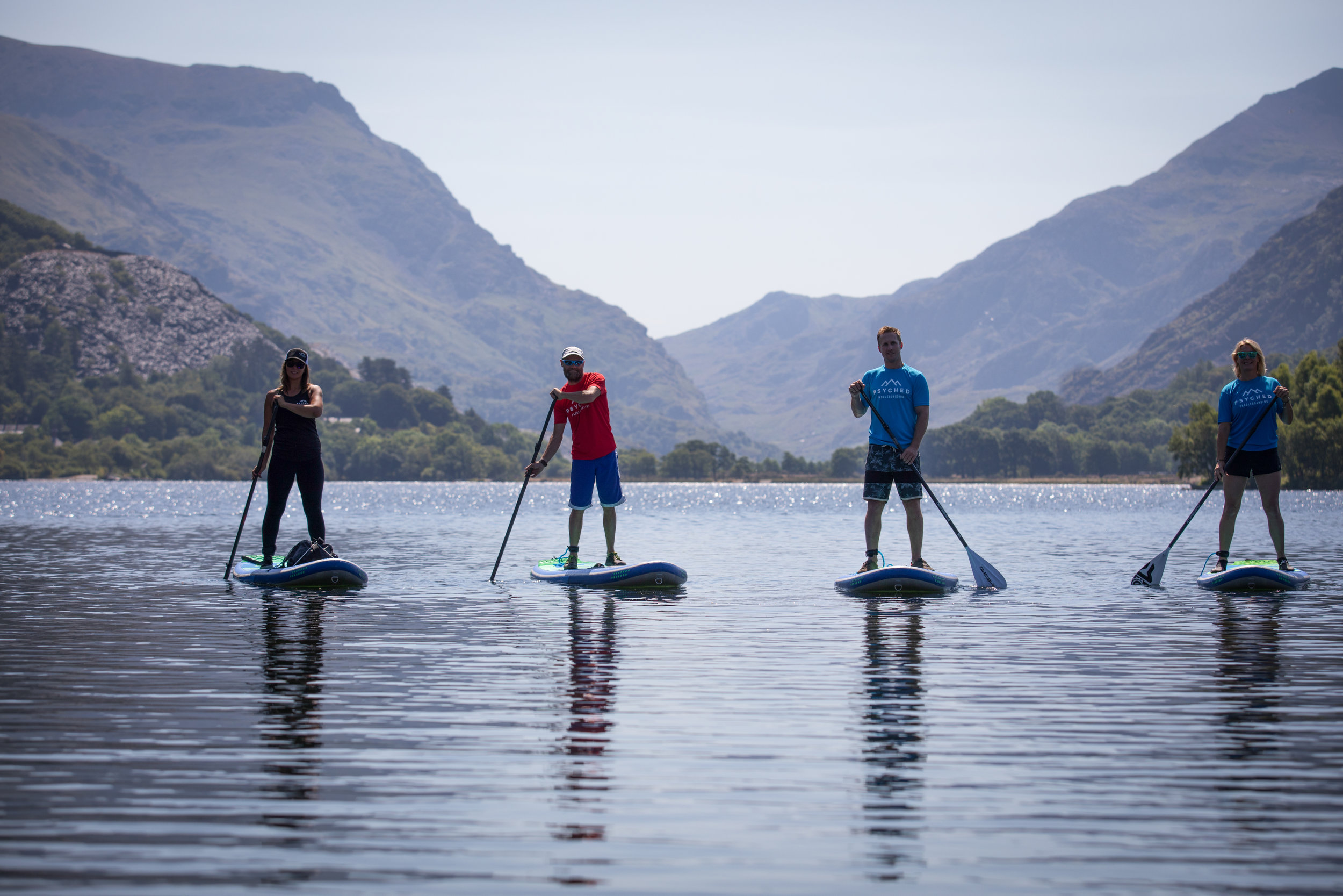 Psyched Paddleboarding | Beginner SUP | Wales