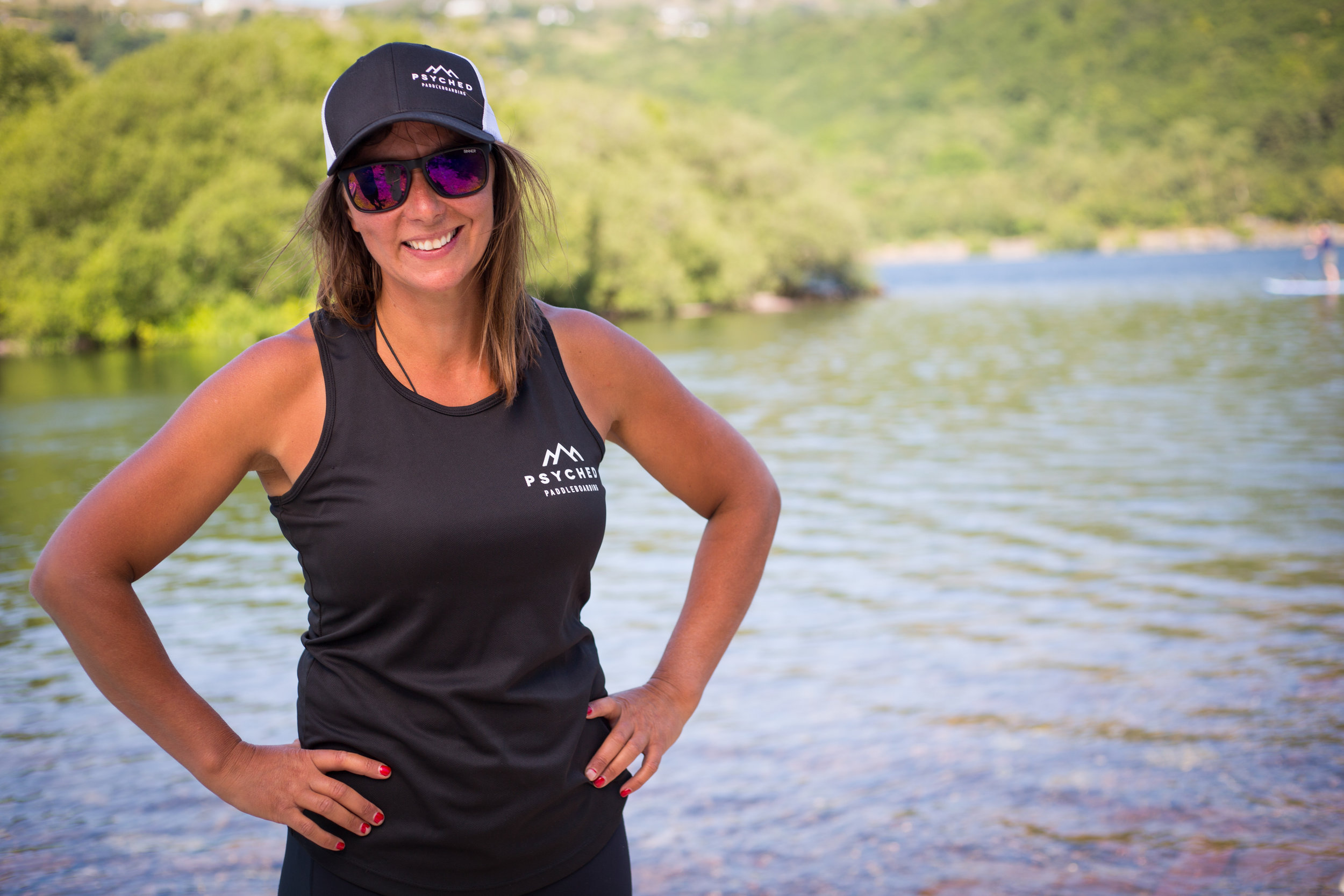 Sian Sykes, Founder of Psyched Paddleboarding