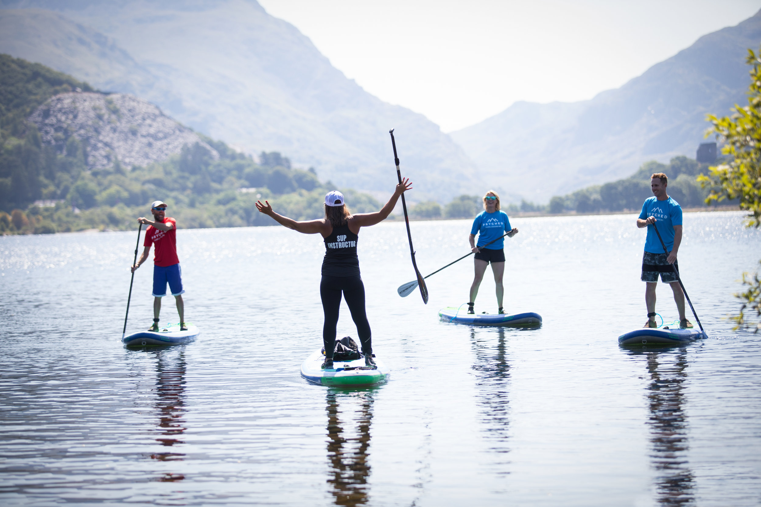 Beginner SUP | Psyched Paddleboarding | Corporate Events