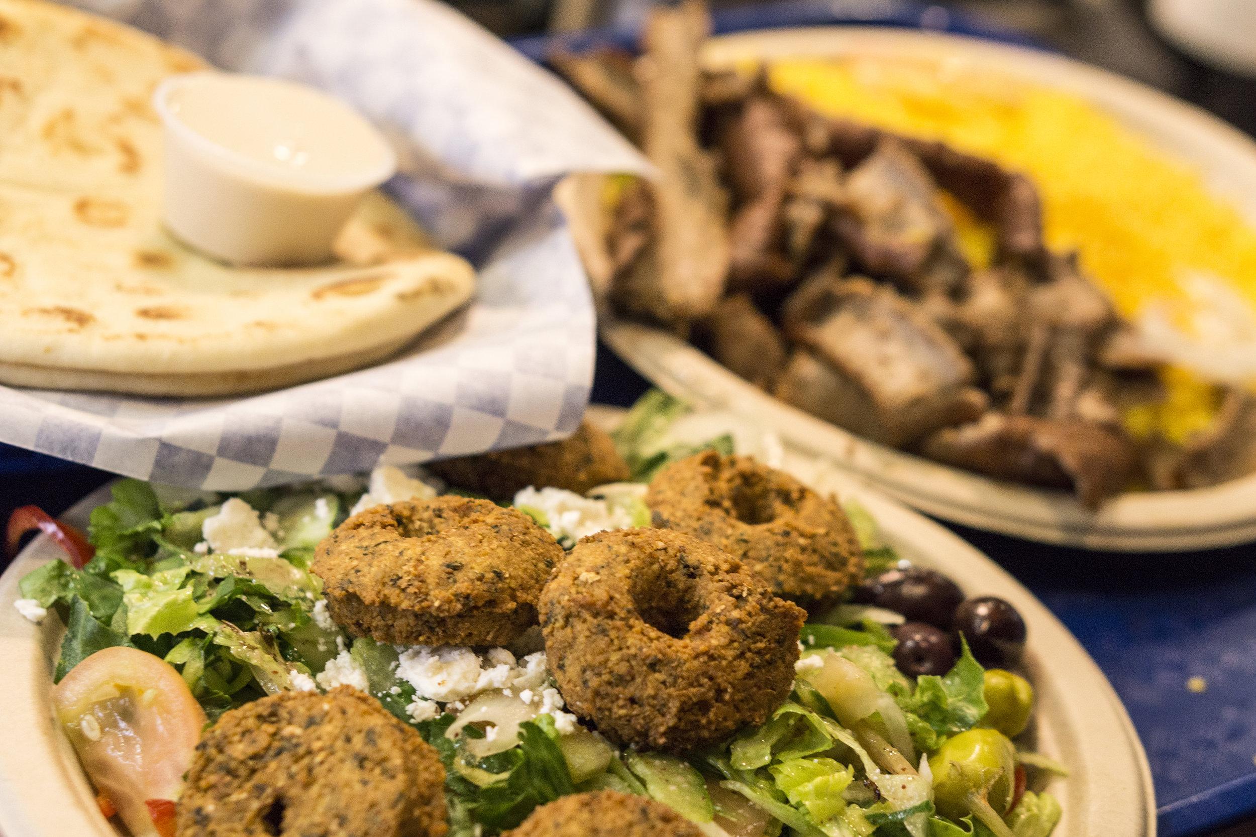 Greek Falafel Salad