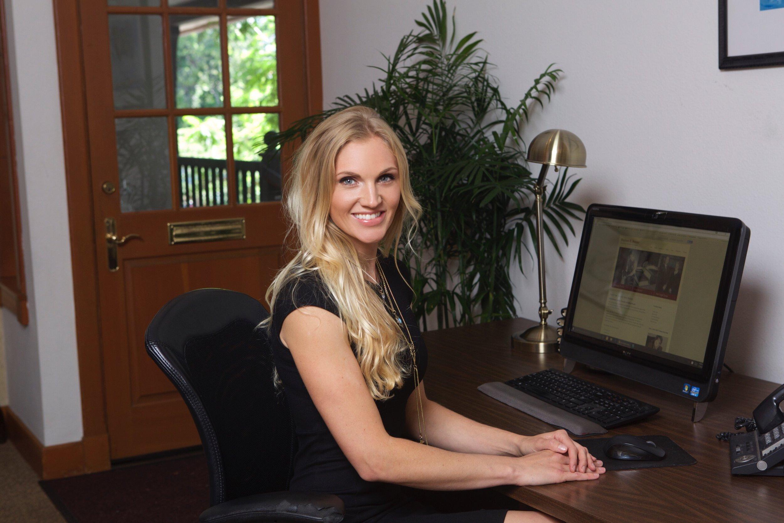 Emily Khashoggi, Legal Assistant