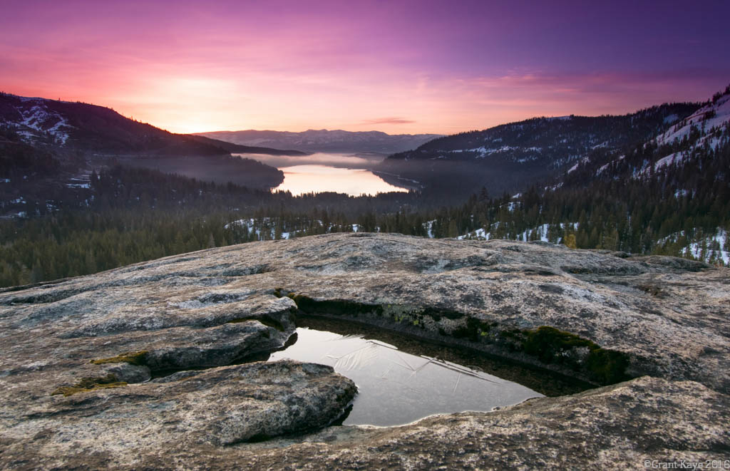 Donner Summit Sunrise