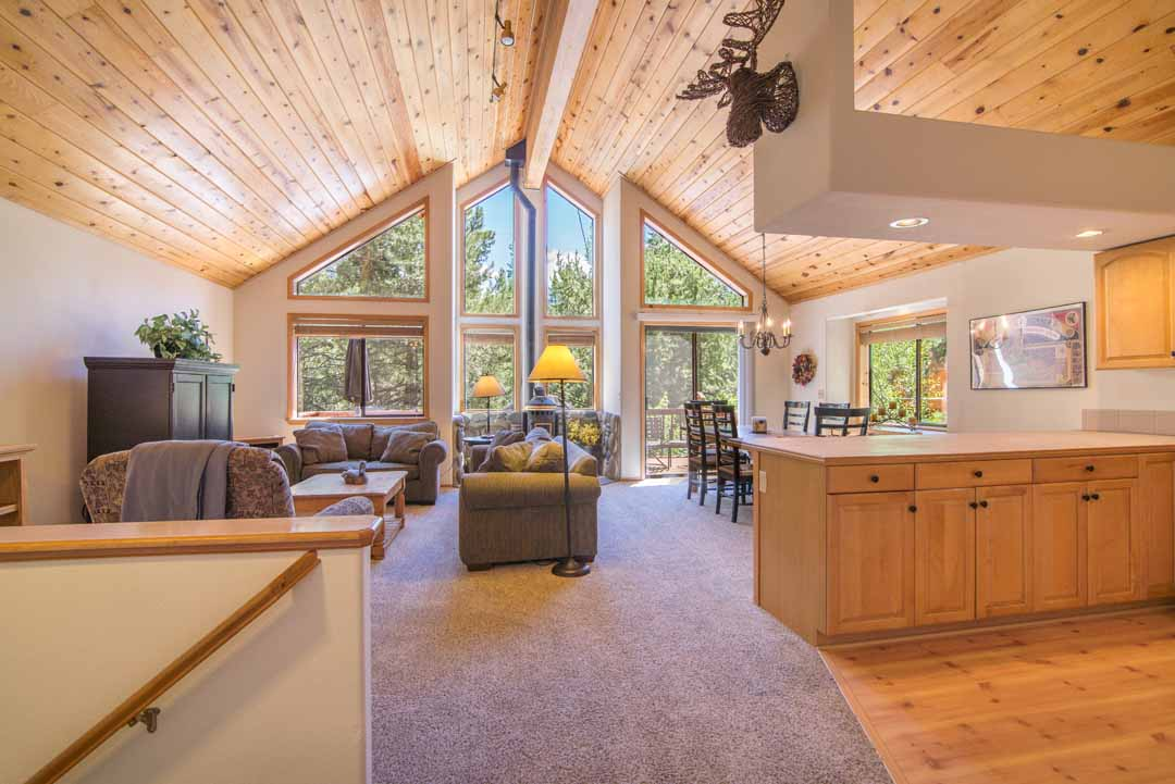 SOLD! Sunny Tahoe Donner Home
