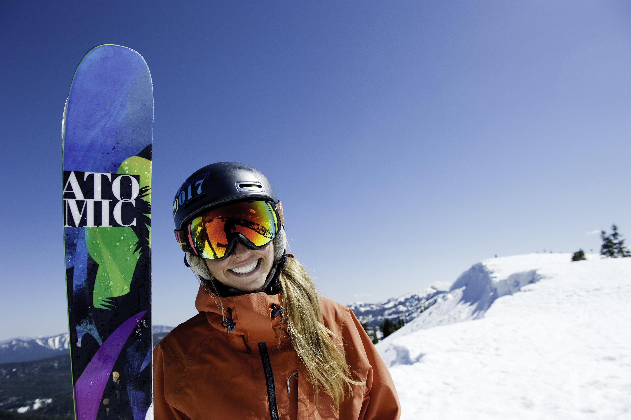sugar bowl resort skier