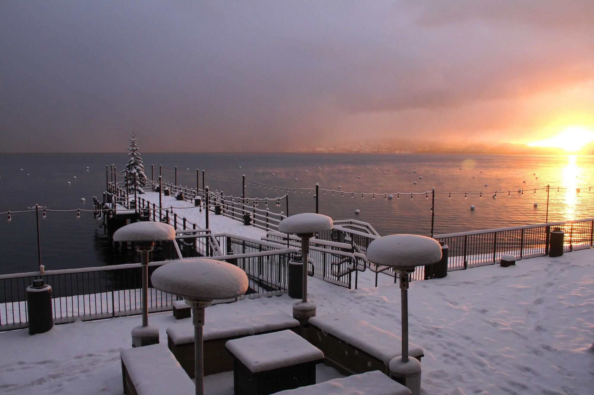 West Shore Cafe Winter
