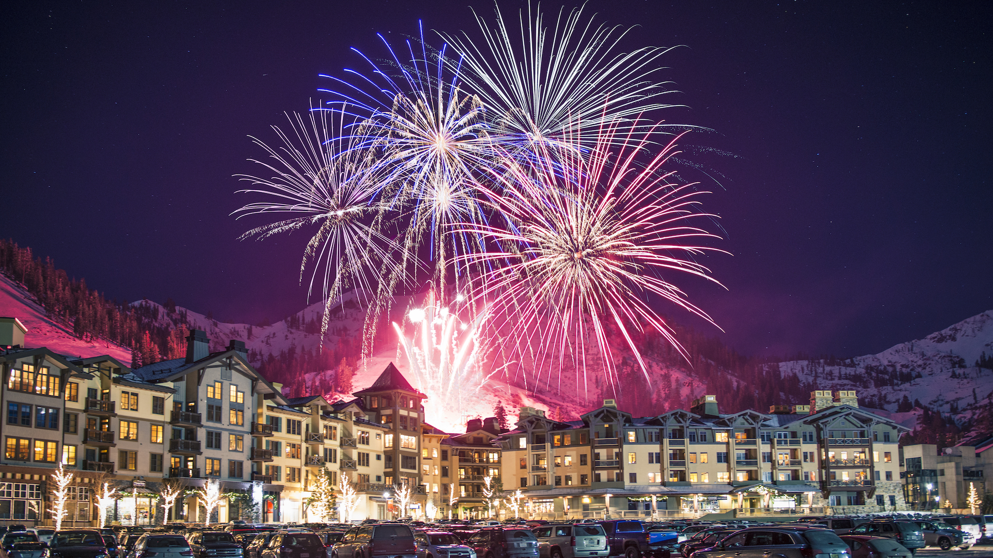 Squaw Valley Fireworks