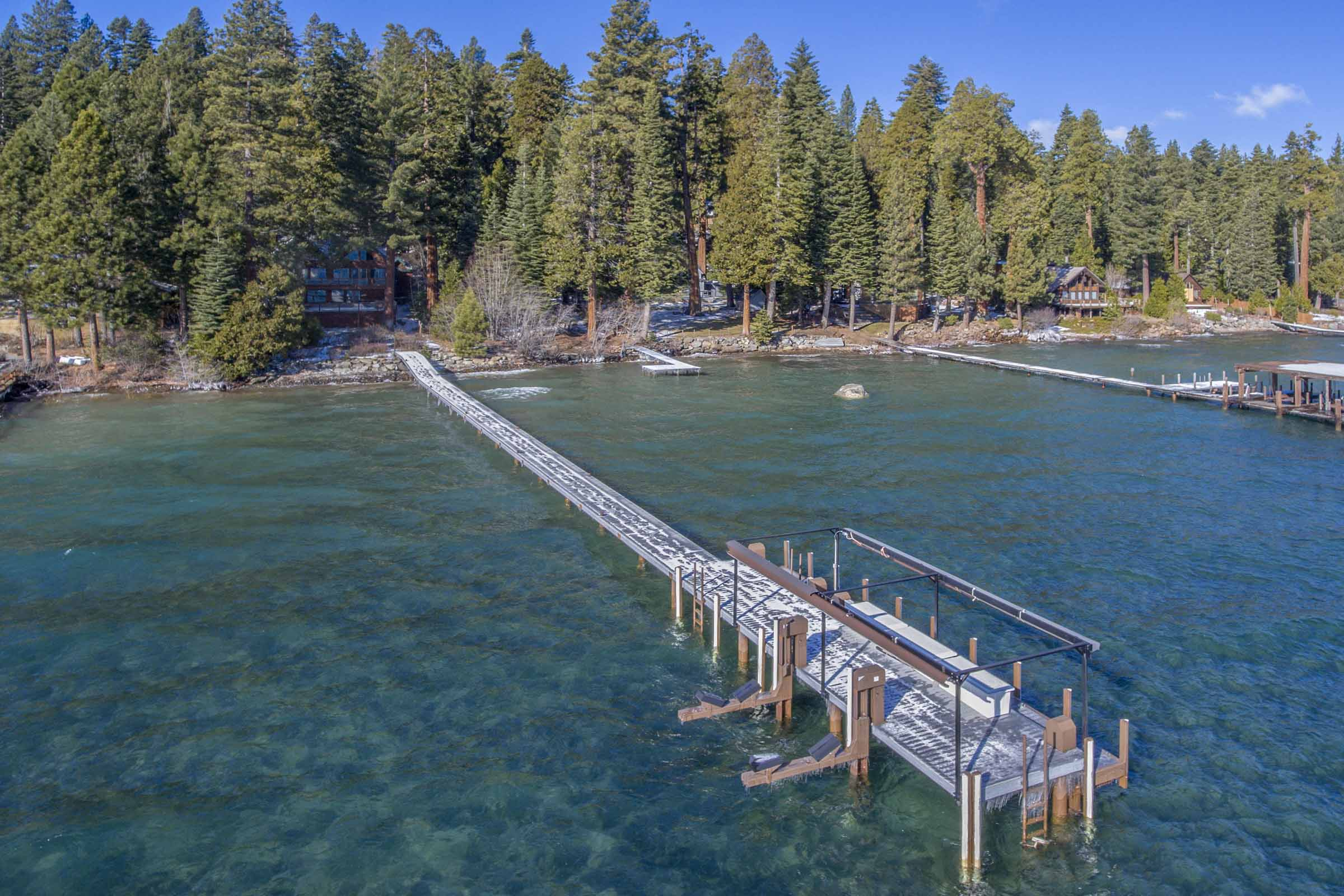 Lakefront home on Lake Tahoe