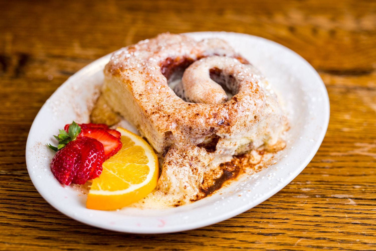 Cinnamon Roll from Donner Lake Kitchen