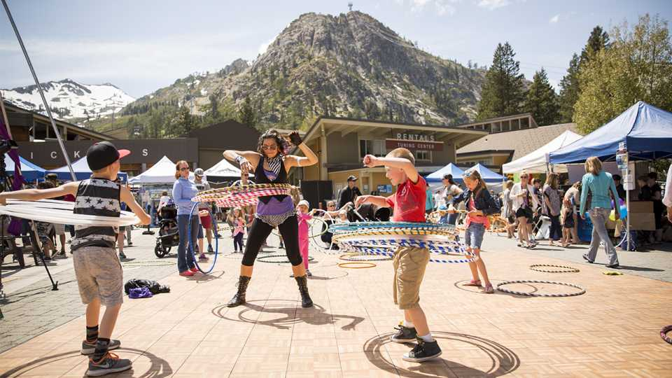 Made In Tahoe Festival at  Squaw Valley , photo from event page.