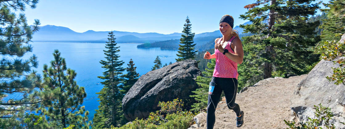 Photo from the  Tahoe Trail Running Series website .